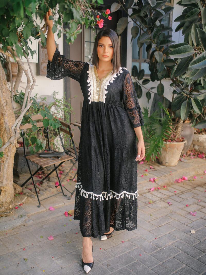 שמלה אדל שחורה